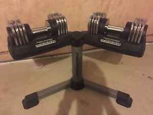 ProForm 50 lbs Adjustable Dumbbells