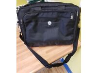 Brand new never used black laptop bag carry case 15.5 inch