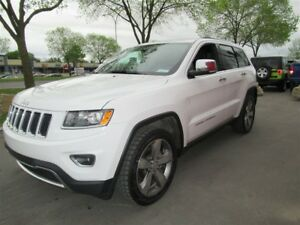 2015 Jeep Grand Cherokee Limited*NAV*ROOF*8.4 IN *