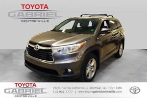 2014 Toyota Highlander Limited AWD  NAVIGATION + CUIR + TOIT OUV