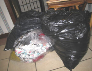 Large Lot of 3 Bags of Women's clothes, M-L sizes, good things