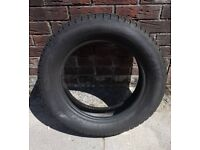 Nearly new Car tyre 205 16 60