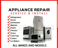 APPLIANCE REPAIR SERVICES! ($50 Flat Rate)