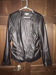 Woman's 'leather' jacket