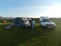 Outwell Nevada MP5 tent and awning plus lots of extras used once for three days