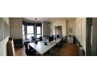 Affordable desk / office rentals - available now - central Hove