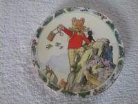 The rupert bear collector plate