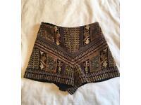 Zara Embroidered Shorts