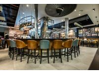 Bartenders for Pilots Bar and Kitchen, Heathrow Airport T3 & T5