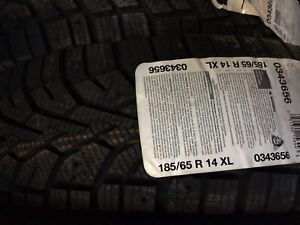 4 winter tires 185/65r14 Gyslaved nord frost100 NEW