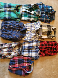 10 Buttoned Shirts By American Eagle