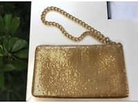 DKNY gold purse wallet bag