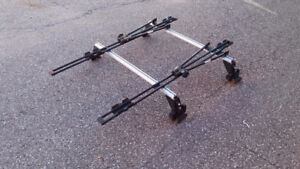 Audi A4 roof racks and bicycle mounts