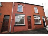 Mid terrace property in Bolton, good residential area, two bedroom, two reception and private garden