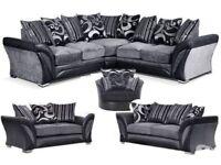 Brand new dfs model sofas corner or 3+2 sofa set