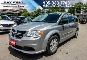 2013 Dodge Grand Caravan SXT STOW N' GO, SUNSCREEN GLASS, PWR WI