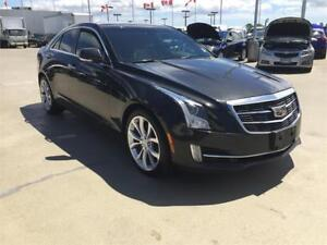 2015 Cadillac ATS Sedan Performance AWD BLACK V6