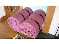 2 X DUVALAY memory foam sleeping bags