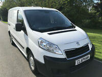 2014 14 PEUGEOT EXPERT PROFFESIONAL 1.6HDI 90BHP FULL HISTORY UK DELIVERY NO VAT