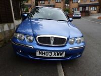 ROVER 45 2003 5DOOR! LONG MOT! LOW MILEAGE! £360 O.N.O! *BARGAIN* (NOT A POLO CIVIC YARIS GOLF A3)