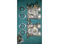 Twin Weber 48 DCOE Carburettors