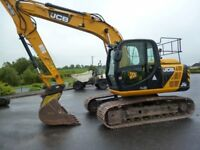 2013 JCB JS130LC with 2689hours