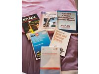 Cardiac rehabilitation and sports science books