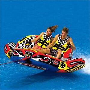 BOAT TUBES: AIRHEAD CHARIOT WARBIRD 2 *SALE* (1-2 RIDERS)