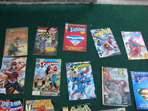lots of old comics books for sale -over 100 of then