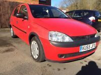 2005 VAUXHALL CORSA LIFE TWINSPOT (1.2LIT) WITH 80K IN GOOD CONDITION