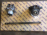 I have a genuine Scania rear mount pto quill shaft and drive all genuine scania parts