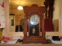 swap my antique large ginger bread clock for old wind up watch what you got