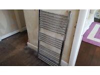 Towell radiator silver
