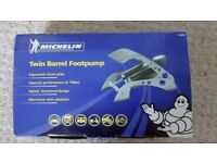 Michelin Twin Barrel Foot Pump