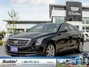2015 Cadillac ATS 2.5L 0.9% for up to 24 months O.A.C