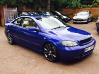 Vauxhall Astra coupe 2.0 turbo vxr engine 300 bhp stage 3 remapped pops and bangs 2495