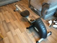 Rowing machine, reasonable condition, fully working.
