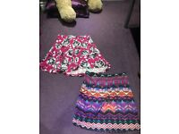 Diffent variety of skirts and dresses size 10-11