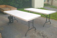 Vendor / Yardsale  For Rent ...$15 per table 2 day rental