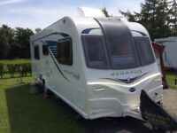 2015 Bailey Pegasus GT65 Rimini Touring Caravan, Excellent condition, with full service history.