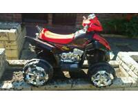 Electric Quad Bike 3-8 yr old