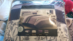 Twin complete bed set + 2 foam mattress toppers