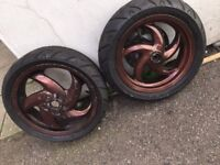 Gilera runner 125 sp piaggio typhoon sets of wheels