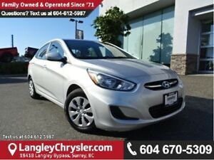 2015 Hyundai Accent GLS W/BLUETOOTH & HEATED  SEATS