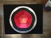 Sony Xplod Subwoofer 1200w with enclosure - Like new Sub woofer no amplifier