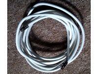 4.25 meter long Heavy Duty F Type Digital Sattelite Coaxial Cable