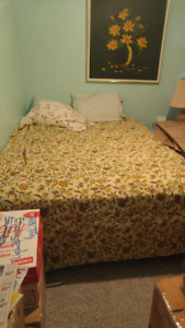 QUEEN MATTRESS, BOXSPRING, FRAME