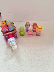 Happyland Fairy and Carriage Set