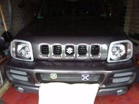 Head light protectors for Suzuki Jimny