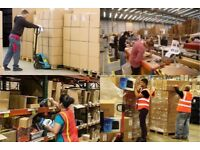PERMANENT WAREHOUSE OPERATIVES URGENTLY REQUIRED IN WEMBLEY.